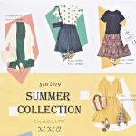 札幌ミセスの夏物ファッション