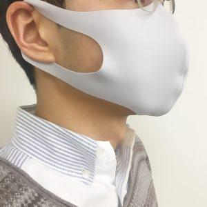 札幌で買える洗えるマスク着用イメージ